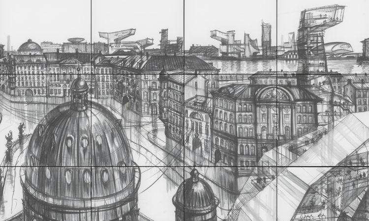 Sergei Tchoban – Une ville dessinée