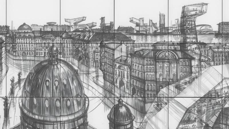 Sergei Tchoban - Une ville dessinée