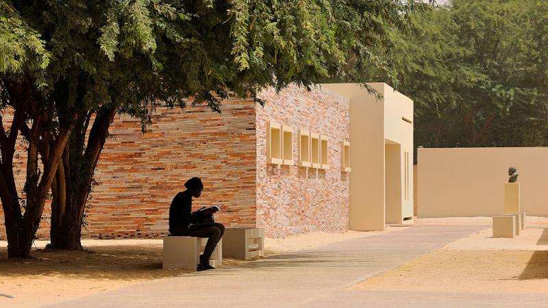 Lycée Théodore Monod signé Segond-Guyon à Nouakchott