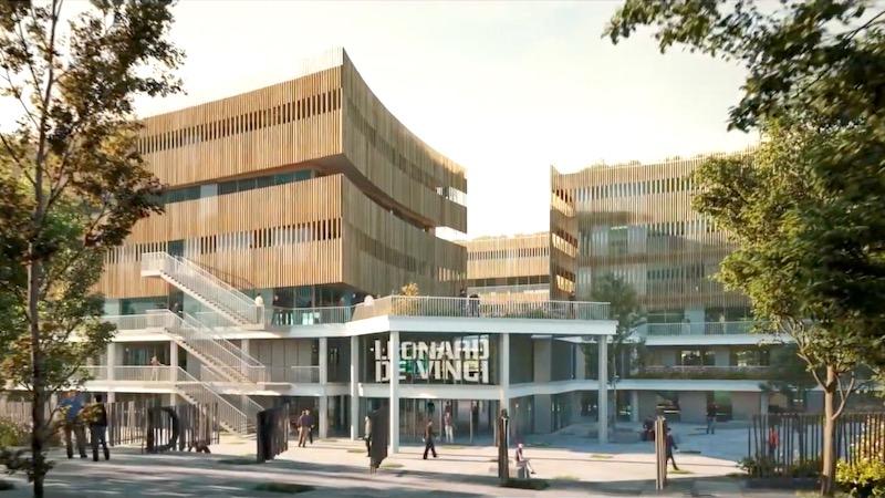 Le projet de It's pour l'ancienne école d'architecture de Nanterre