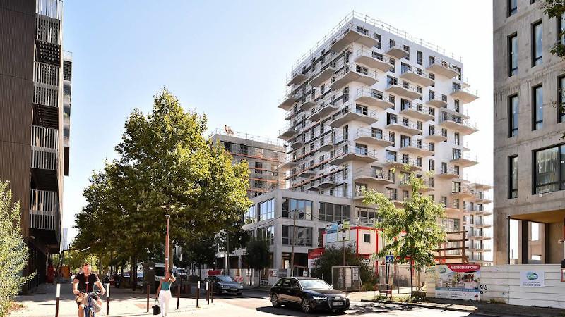Mixité verticale avec O'2 Parcs, par Hardel Le Bihan sur l'Ile de Nantes