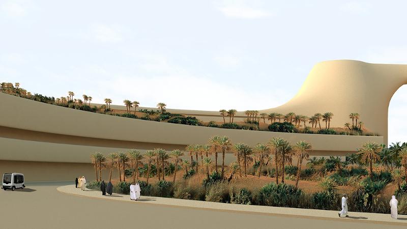 Confiné dans le désert mais pas trop selon l'architecte Luca Curci