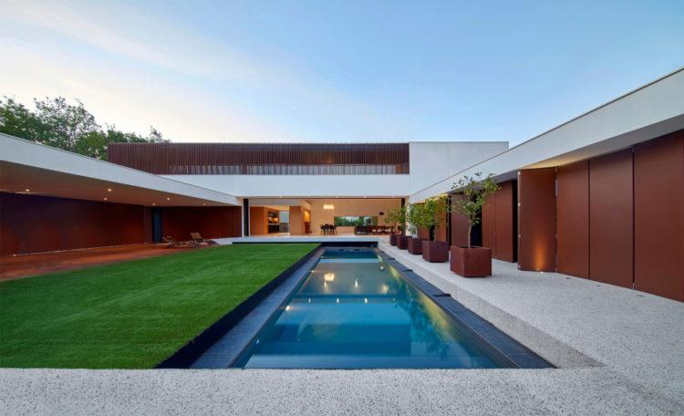 Villa à Gradignan près de Bordeaux (Patrice Loirat - HPL architecture)
