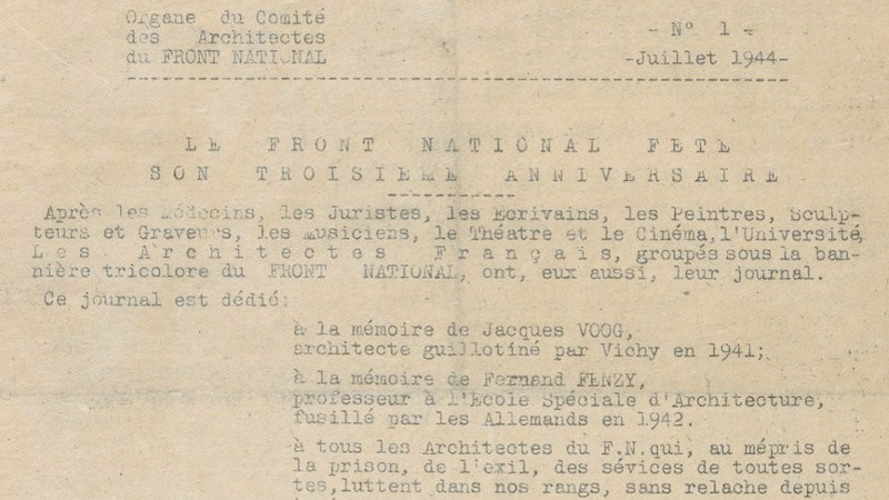 Secrets d'archi : 1941 - 20 architectes français invités en Allemagne