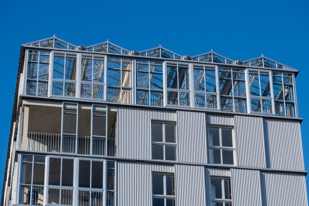 Immeuble St'île. Architectes : Block Guinée-Potin.