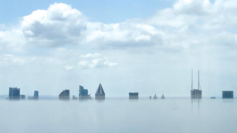 Une librairie au-dessus des nuages à Shanghai par Wutopia Lab