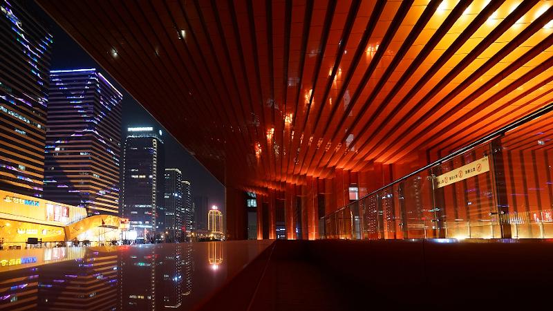 A Yiwu, Cultural Square, signé UAD : un bâtiment  civique