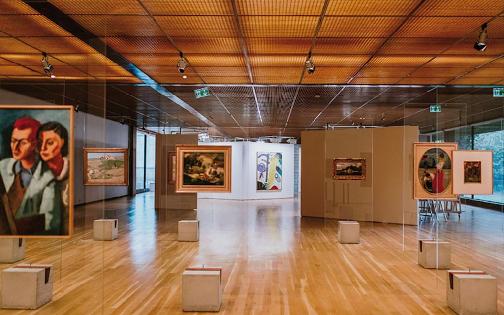 Vue d'exposition Art On Display