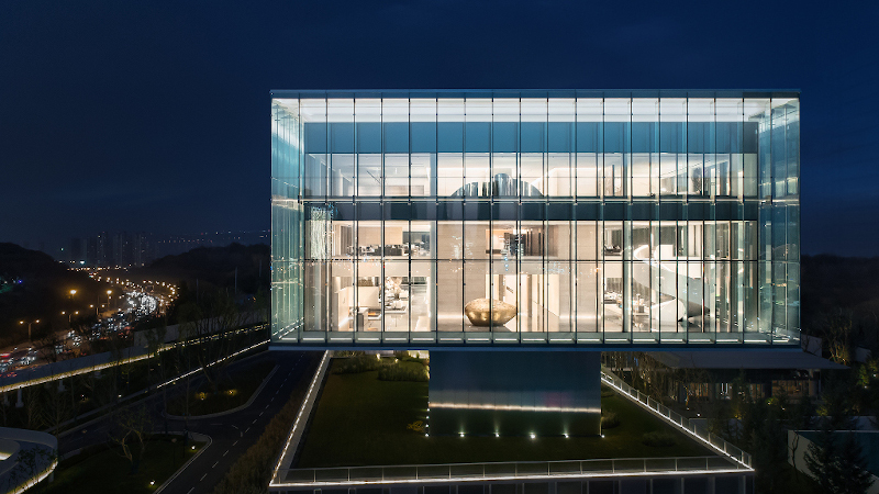 A Xi'an, l'aménagement du Sunac - Centre d'art moderne réalisé en CCD