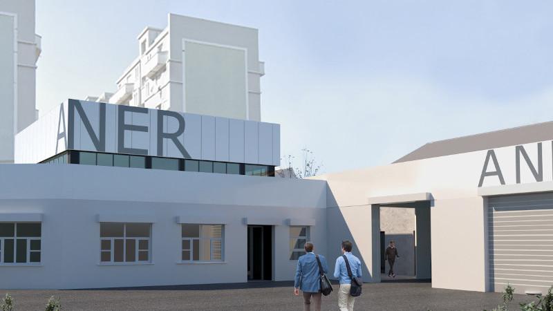 Siège social d'ANER, à Montreuil, de l'industrie aux bureaux par GSMA