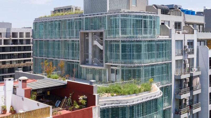 Edificio Summers à Buenos Aires par architecturestudio, bureaux tempérés