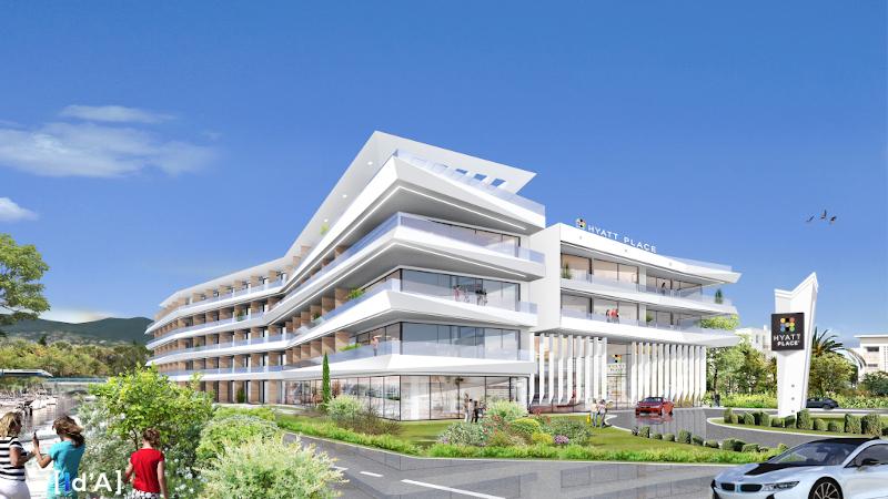 Hyatt Place à Cannes, par International D'Architecture (ID'A) : contextuel ?