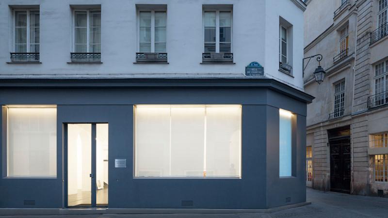 Galerie Nathalie Obadia à Paris, restructuration légère par GSMA