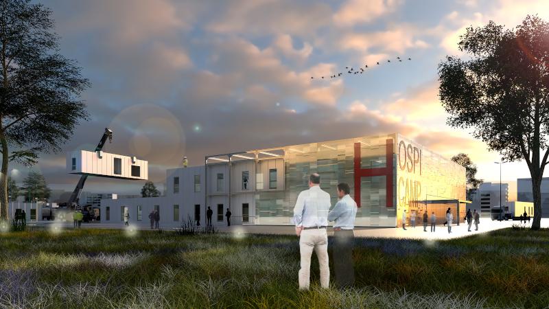HOSPI-CAMP, l'hôpital de campagne modulaire selon AIA