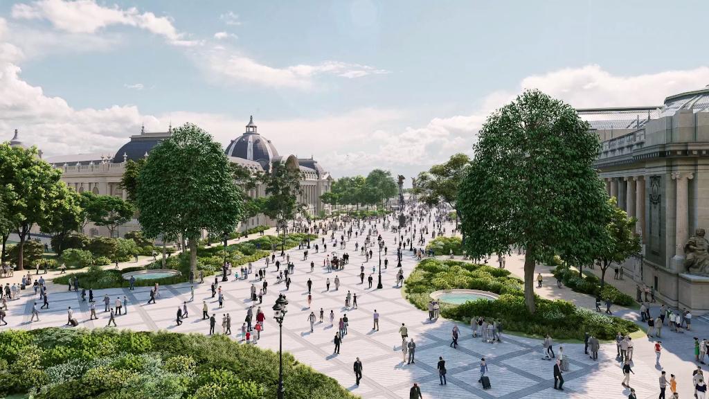 Parc Champs-Elysées