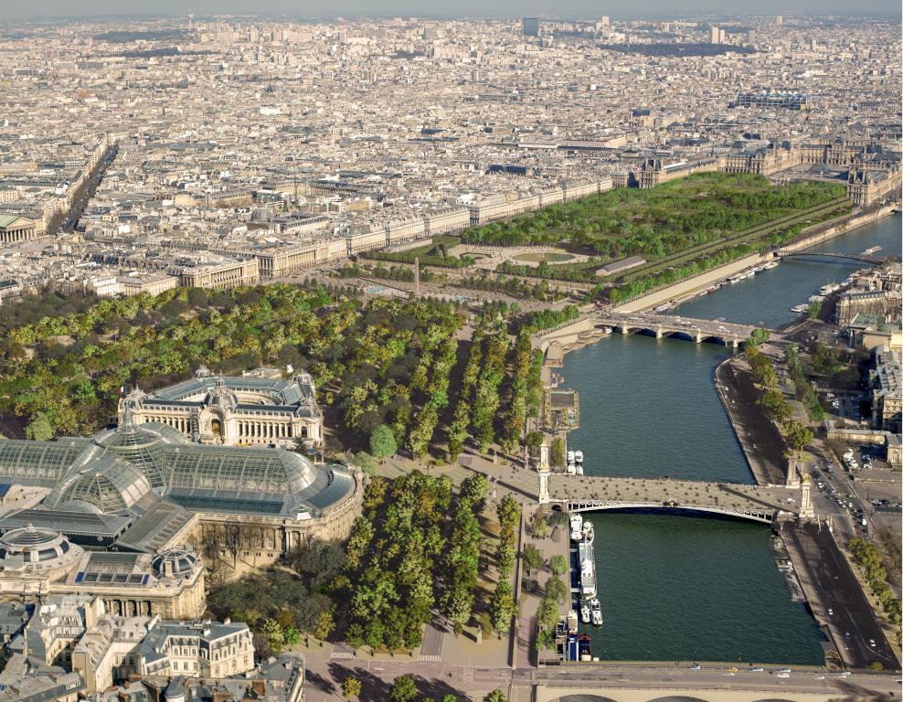 Port des Champs-Elysées