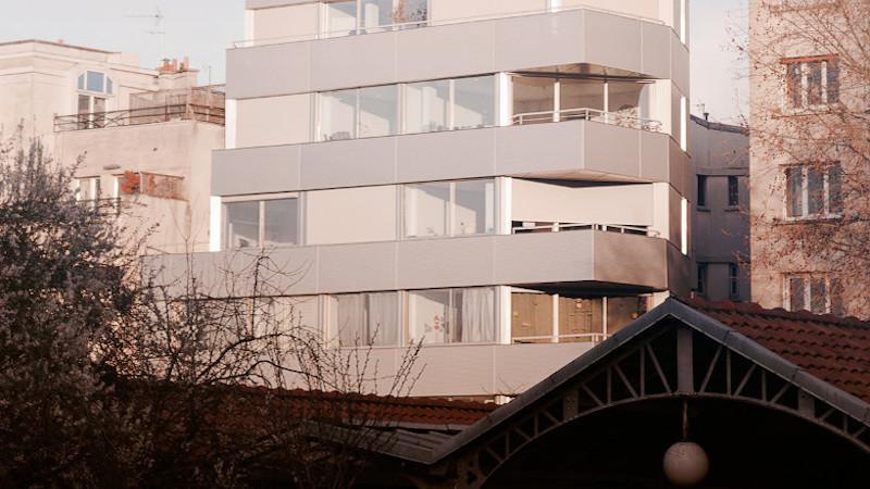 A Paris, sept logements signés Lambert.Lénack
