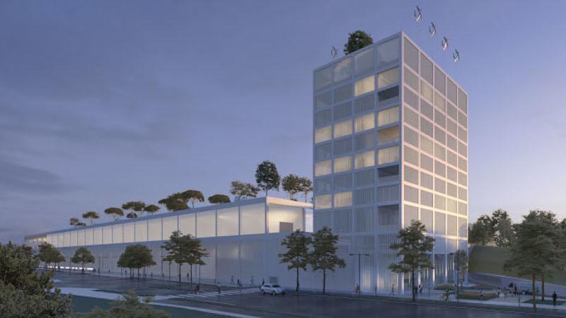 Un ambitieux techno-centre à Toulouse conçu par TAA