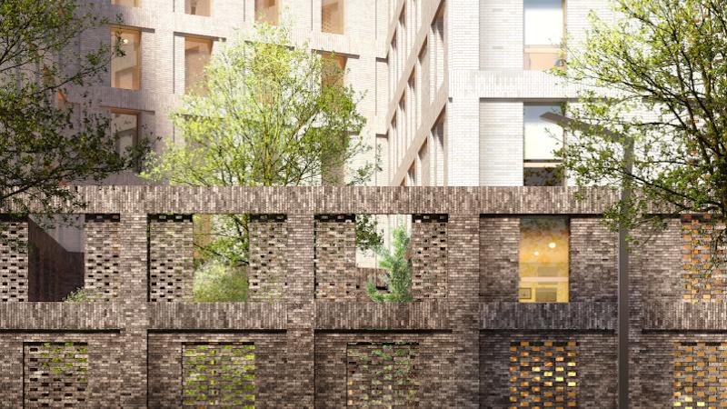 A Paris-Saclay, une nouvelle résidence étudiante signée A+ Samuel Delmas