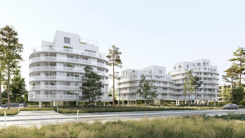 Les Hauts de Sévigné, 97 logements à Cesson-Sévigné par Philippe Dubus