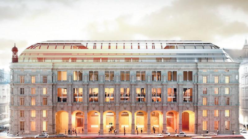 L'emblématique poste du Louvre transformée Par Dominique Perrault
