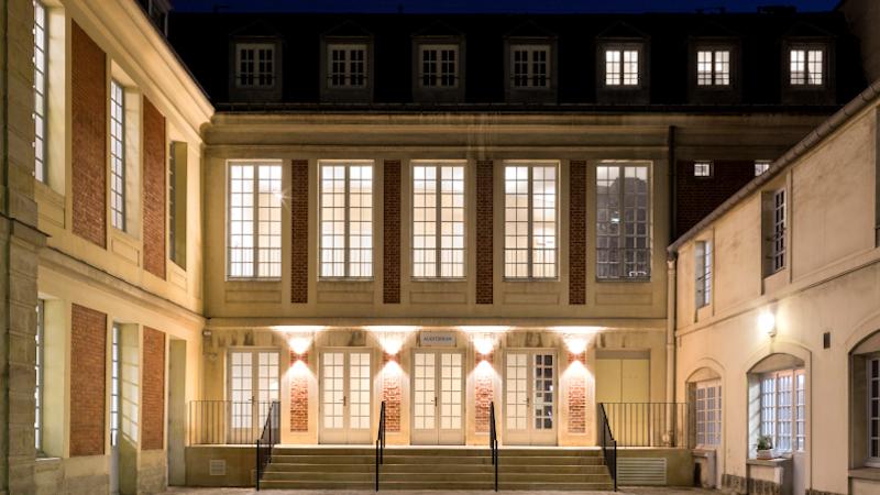 Réhabilitation de l'auditorium Grand Parc Versailles par PARC Architectes