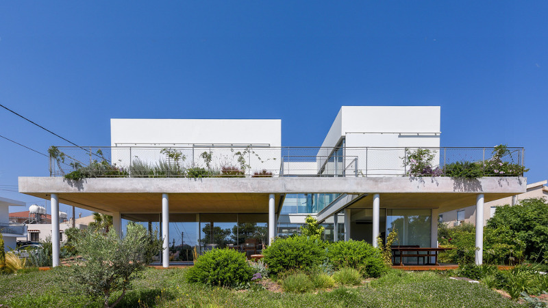 Une maison-jardin à Nicosie signée Christos Pavlou
