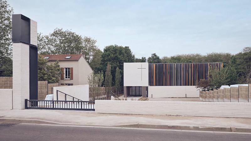 A Montigny, une église contemporaine signée Enia architectes