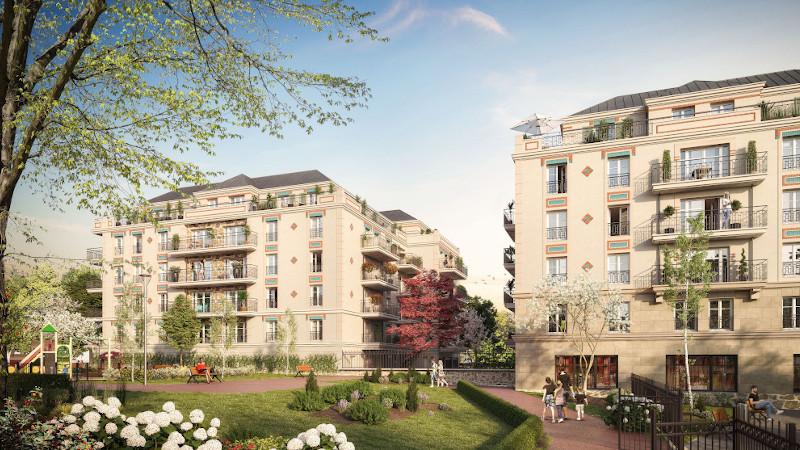 Villa Caliensis, à Chelles, 81 logements en pierre de taille signés A26 BLM