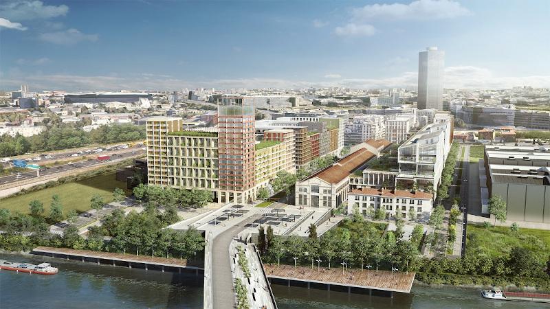 Ecoquartier Universeine à Saint-Denis, par Chaix & Morel et associés