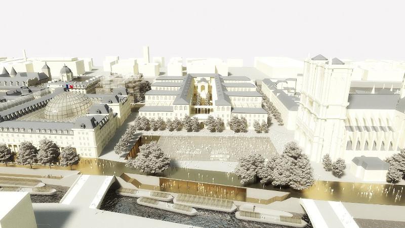 L'ombre de François Hollande plane sur Notre-Dame