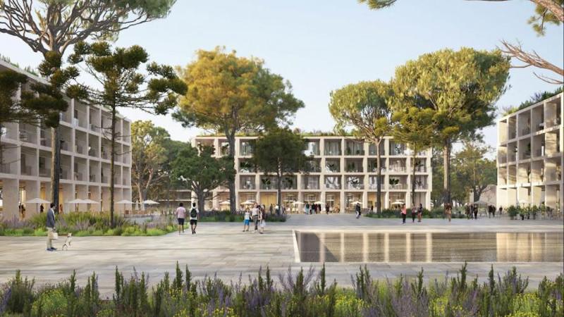 Ecoquartier de la ZAC du Mas Lombard à Nîmes, selon Lambert.Lénack