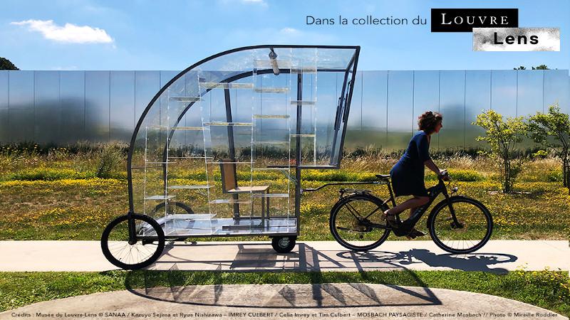 La 'Rolling Design House', une œuvre d'architecte au Louvre-Lens