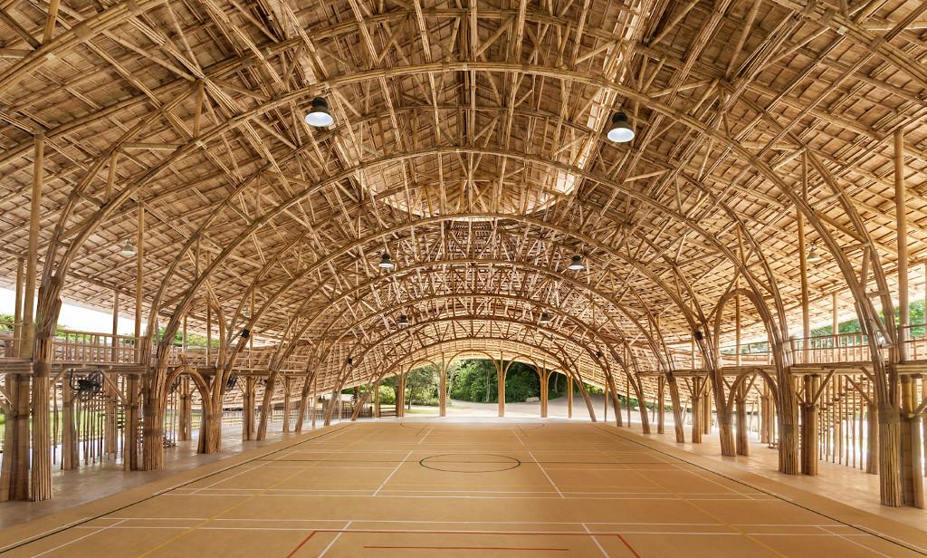 FIBRA Bamboo-Sports-Hall-Panyaden-School