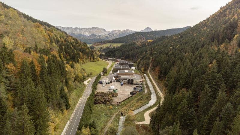 Dans le Vercors, un équipement technique certifié Bois des Alpes, par PNG