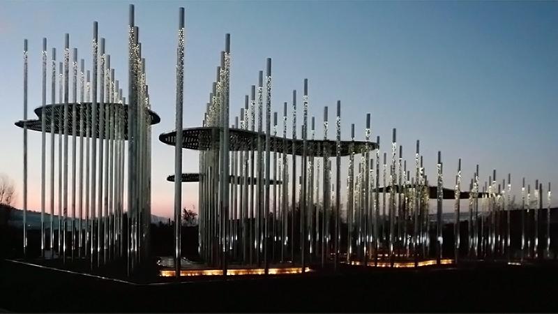 Pavillon de la Montagne du Dragon, par Aurélien Chen