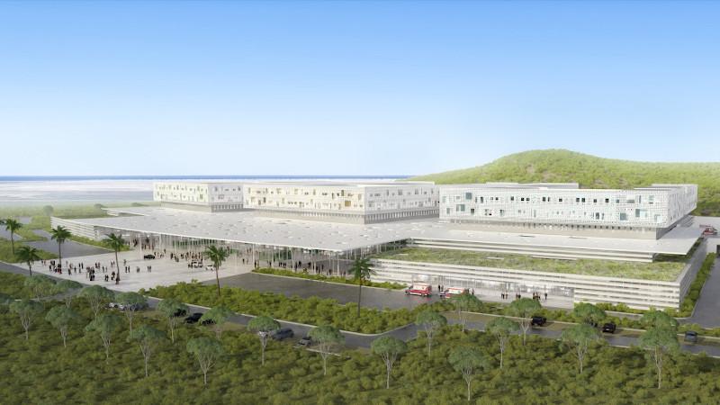 Le CHU de Tanger conçu en trois corps par architecturestudio