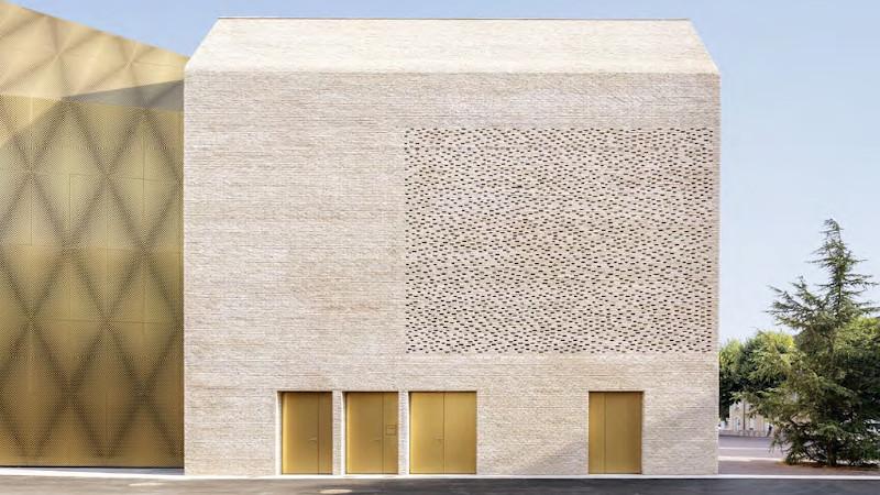 Un cinéma et un espace musée à Cahors signé Antonio Virga