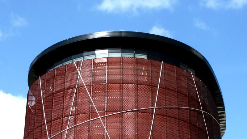 A Dijon, la tour Elithis sous haute protection solaire