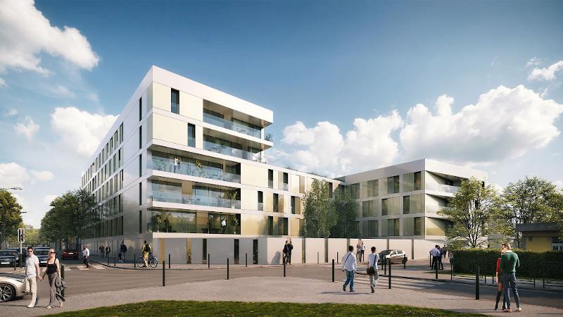 A Arcueil, un bâtiment pour cadres célibataires signé Enia architectes