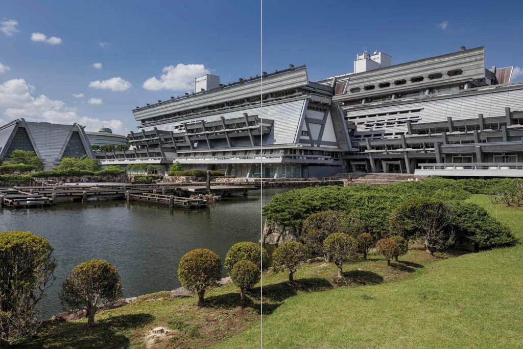 Civic center Japon