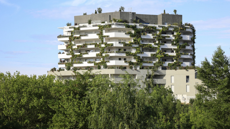 « I-Park », à Montpellier, un monolithe stratifié signé NBJ