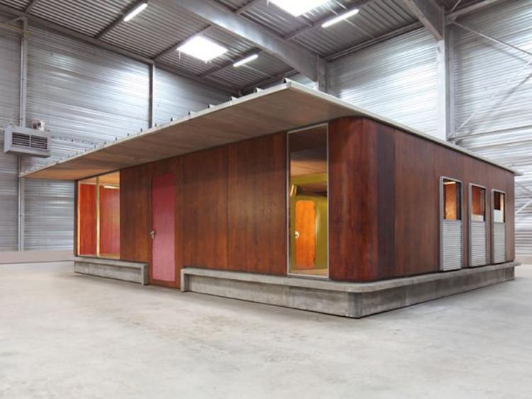 Maison modulaire module Jean prouvé