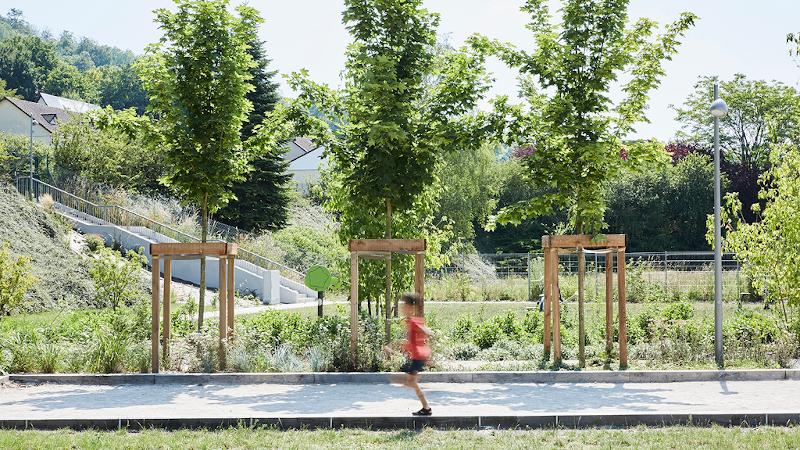 A Grand-Couronne, le parc urbain Jesse Owens, Espace Libre ?