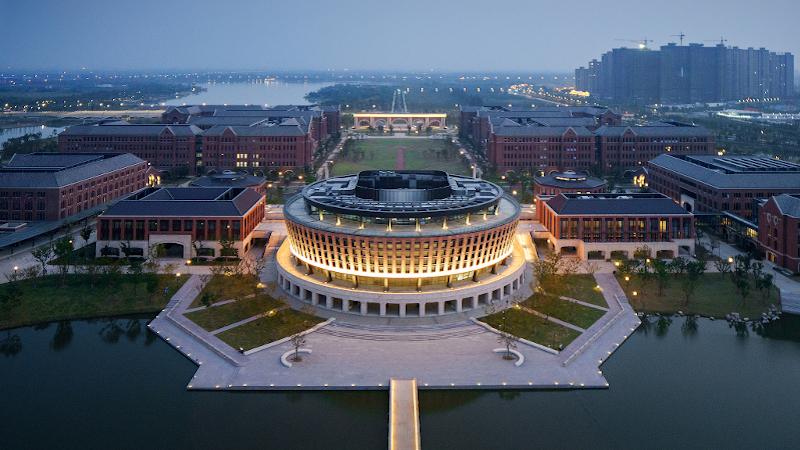 En Chine, un campus international dans le fond et la forme signé UAD