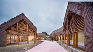 Architendance Centre social @Lemoal Lemoal Architectes