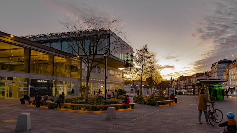 A Nantes, la gare de Rudy Ricciotti cache une forêt