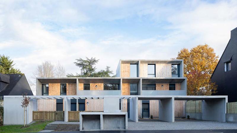 A Rennes, rigueur de la trame pour six logements signés 56S