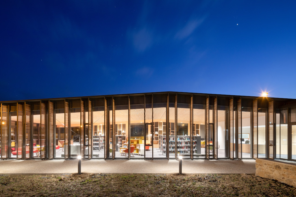 Médiatheque Saint-Brandan Bihan&Pageot Architectes