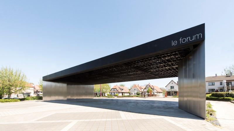Usages contemporains pour la halle multifonctionnelle signée RHB Architectes